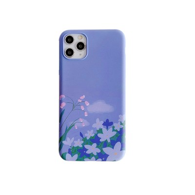 iphoneX Mobile Phone Case Female Apple 11pro Water Sticker Soft Shell XR Anti-drop Applicable 8
