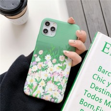 ins Fresh iphoneX Mobile Phone Case Female Apple 11pro Water Sticker Soft Shell XR Anti-drop Applicable 8