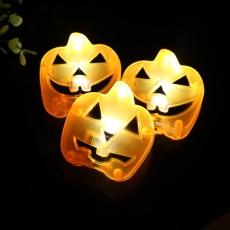 Creative Halloween LED Pumpkin Lantern Ghost Festival Spoof Decoration Props Skull Head Ghost Face Waterproof Lamp