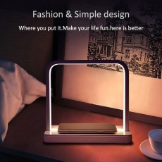 Portable Thin Large Battery Capacity Long-lasting And Durable Mobile Phone Smart Phone Charging Treasure With Desk Lamp