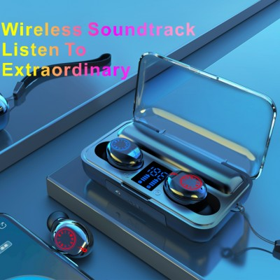 2020 New Style Wireless Bluetooth Earphones High Quality Cross-border In-ear Type Ear Cup Stereo Sound