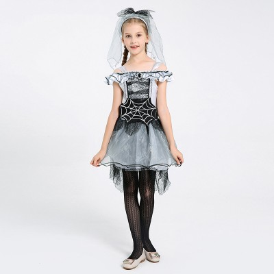 Children's Fancy Dress Party Performance Spider Fairy Costume Spider Bride Acting Prop Costume