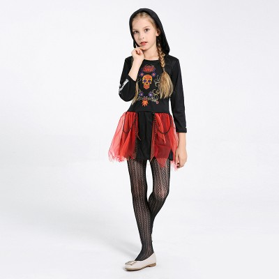Halloween Children's Costume Dress Cosplay Little Witch Female Corpse Performance Costume For Girls