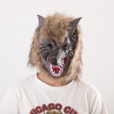 2020 Winter Trend New Wolf Head Mask Prom Party Spoof Mask Animal Headgear For Halloween Decoration And Party