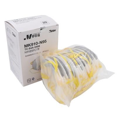 MAKRITE MK910-N95 NIOSH Approval Disposable Respirator Mask 9500 Upgrade Version
