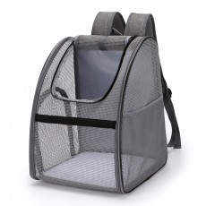 Pets Network-Wide Breathable Pet Backpack Easy To Go Out Pet Backpack Small And Medium Cat Bag Pet Bag
