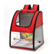 New Parrot Outing Backpack Transparent Breathable Bird Box Large Medium And Small Starling Bird Cage