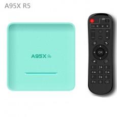 A95X R5 Macaron RK3318 Android 10.0 4+32/64/128GB Smart Full HD 4K TV BOX