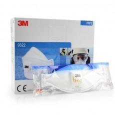 3M Aura 9322 Disposable Respirator FFP2 Valved Dust/Mist Mask