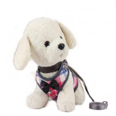 Bell Bow Tie Cat Teddy Small Dog Suitable Traction Rope Bichon Hiromi Schnauzer Dog Rope