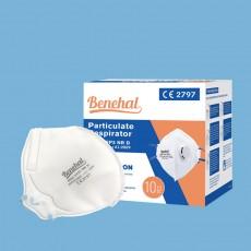Benehal D363 FFP3 Particulate Respirator NR D Folded Mask with Valve