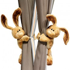 Curtain Doll Buckle Decoration Cute Cartoon Rabbit Doll Strap Wild Creative Tie Rope
