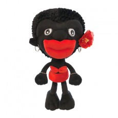 Creative African Beauty Plush Toy Pillow Villain Doll Tanabata Girl Day Gift Couple Doll