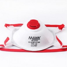 MEIXIN MK-2016V FFP3 NR MASK Head-mounted with Breathing Valve CE2797