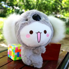 New Creative Transformation Koala Doll Eight-inch Plush Toy Grab Machine Doll