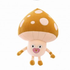 2020 New Down Cotton Soft Pillow Children's Doll Creative Funny Mushroom Carrot Plush Toy Pillow