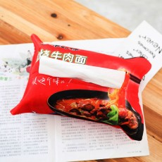 Creative Simulation Potato Chips Lay's Instant Noodles Coke Wangwang Decorative Snacks, Drawing Paper Towels Map Custom Plush Toys