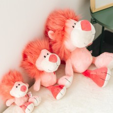 2020 NICI Genuine Poker Ugly Cute Pink Lion Plush Doll For Children