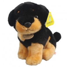 Amangs Dog Small Dachshund Doll Cute Black Shell Simulation Puppy Doll Ragdoll Corgi Plush Toy