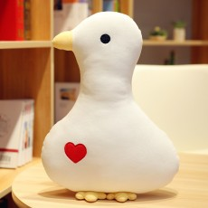 Big White Duck Cole Duck Pillow Doll Pillow with Creative Design For Children