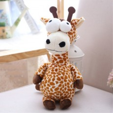 Forest Animal Series Giraffe Crocodile Elephant Lion Children With Suction Cup Wedding Throwing Grab Machine Doll