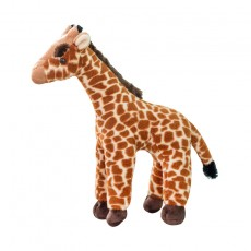 Simulation Giraffe Doll Stand Sika Deer Plush Toy Forest Snimal Doll Gift For Children
