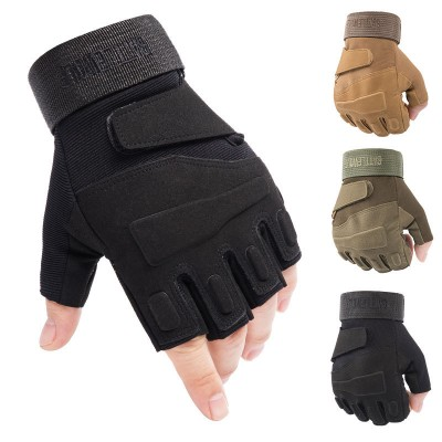 Z901A Tactical Gloves Half-finger Special Forces CS Combat Protection Climbing Hunting Army Fan Mountaineering For Outdoor