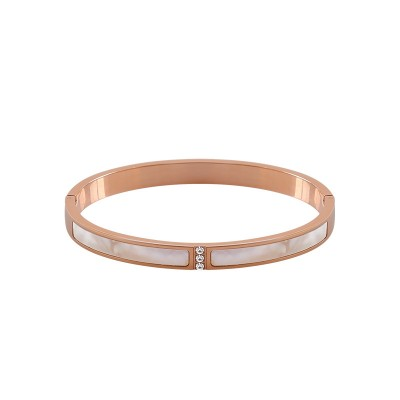 Titanium Steel Bracelet Female Shell Exaggerated Simple Fashion Wild Korean Bracelet Students Mori Temperament Trend