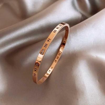 Titanium Steel Keepsake Sisters Bracelet Simple Temperament ins Niche Design Bracelet For female