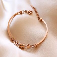 Three-dimensional Butterfly Titanium Steel High-end Simple Bracelet Korean Fashion Niche Bracelet Temperament Cold Wind Bracelet