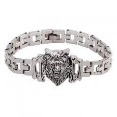 Qinuo New Simple Generous Horse Bracelet With Jewelry Clasp Bracelet Titanium Steel Bracelet For Men And Women
