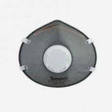 Benehal 6175 NIOSH N95 Respirator Activated Carbon Valved Mask