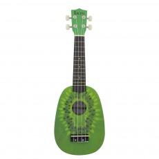 IRIN 21 Inch Ukulele Kiwi Guitar Green Guitar Plucked Instrument For Beginners