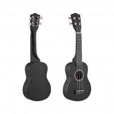 21 Inch Black Acoustic Ukulele Mahogany Music Ukulele Nylon Strings And Children's And Students Beginner Gifts