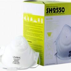 San Huei UNIAIR SH2550 N95 Particulate Respirator Face Mask