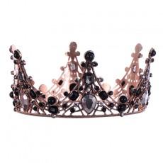 Bridal Jewelry Baroque Vintage Crown Banquet Birthday Crown Headdress For Ladies