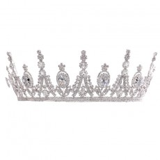 Zircon Big Crown Princess Diadem Bride Wedding Headdress Wedding Crown For Ladies