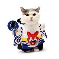 Cat Clothes Onmyoji Dog Teddy Vibrato Kitten Autumn And Winter Kitten British Short Pet Funny Costume