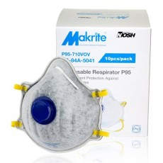 MAKRITE P95-710VOV P95 Particulate with Exhalation Valve