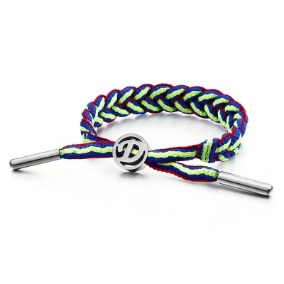 Personalized Outdoor Sports Style Bracelet Stainless Steel Adjustable Bracelet For Men And Women