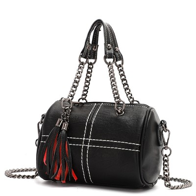 Innovative Shoulder bag With Texture Simple Soft Leather Diagonal Wild Handbag For Ladies