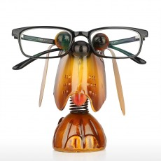 TOOARTS  Home Furnishings Study Desk Cartoon Cute Puppy Animal Glasses Frame Iron Crafts With Creative Design