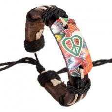 2020 Unique Style Unisex Bracelet European And American Style Leather Alloy Braided Bracelet