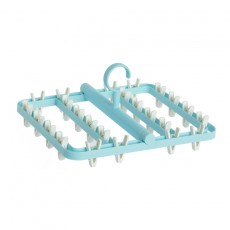 Anti-winding Drying Rack, Foldable Multifunctional Drying Rack, Socks And Underwear Clip Holder