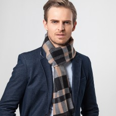 2020 Casual Warm Business Imitation Cashmere Scarf For Middle-aged And Elderly Men