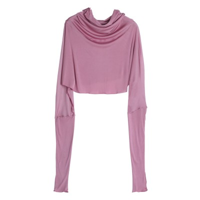 Silk Sunscreen Shawl Women's Summer Long-sleeved Driving Cloak Bib Cycling Mask Mulberry Silk Cloak One Sunscreen Clothing