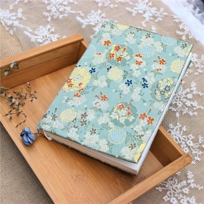 Flower Cluster Brocade Handmade Cloth Book Cover Notebook Cloth Book Cover Hand Account A5A6 Adjustable Book Jacket