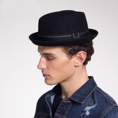 2020 Wool Jazz Hat Casual Felt Hat British Cowboy Hat With Retro And Stylish Look For Men