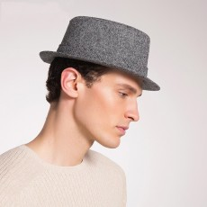 Men's Autumn And Winter New Style Hats Custom Factory Outlet Woolen Hats British Simple Trend Hats