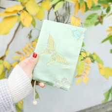 Vintage Butterfly Handmade Cloth Book Cover Notebook Cloth Book Cover Hand Account A5A6 Adjustable Book Jacket